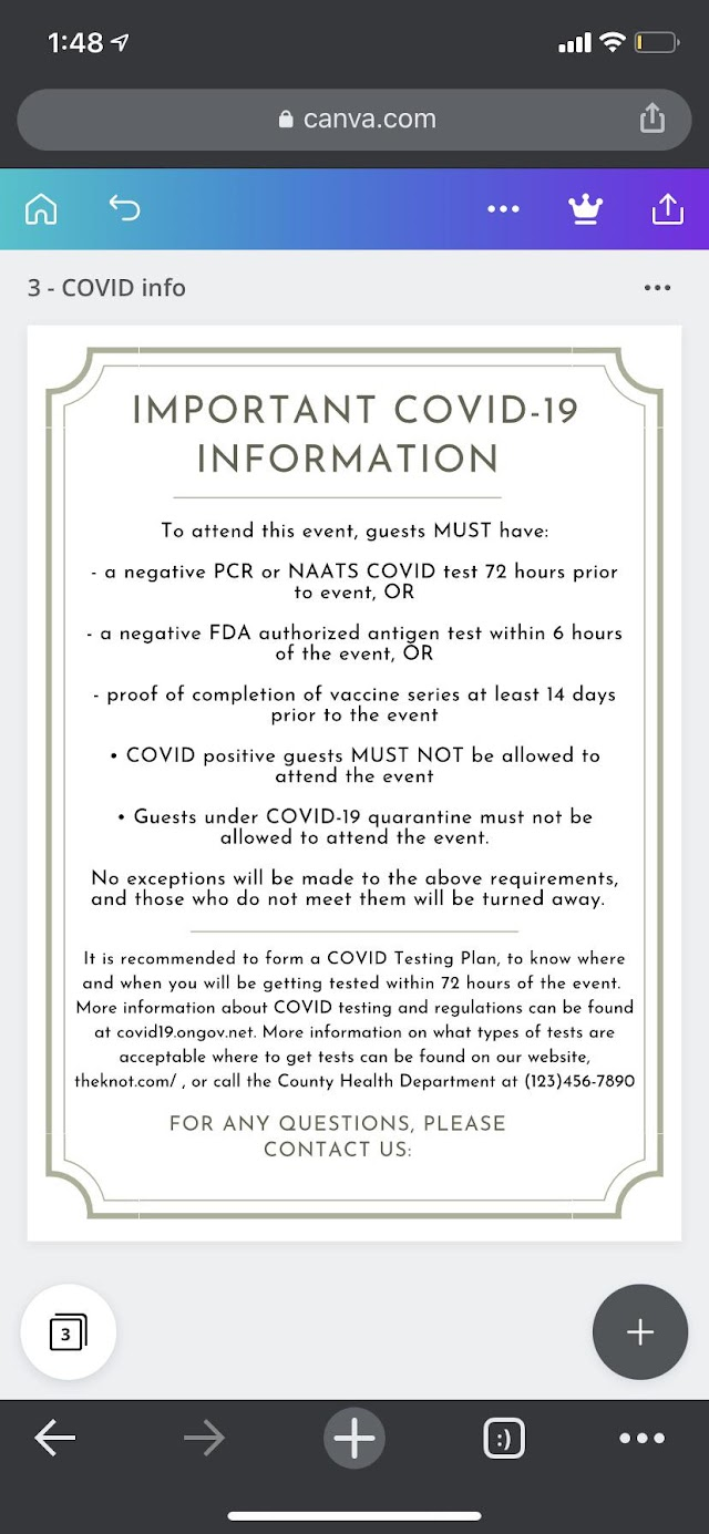 You don't get an invite to these weddings unless you're vaccinated or have a negative covid test