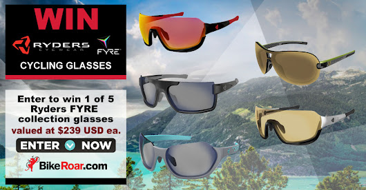 WIN 1 of 5 Ryders Eyewear FYRE advanced cycling glasses