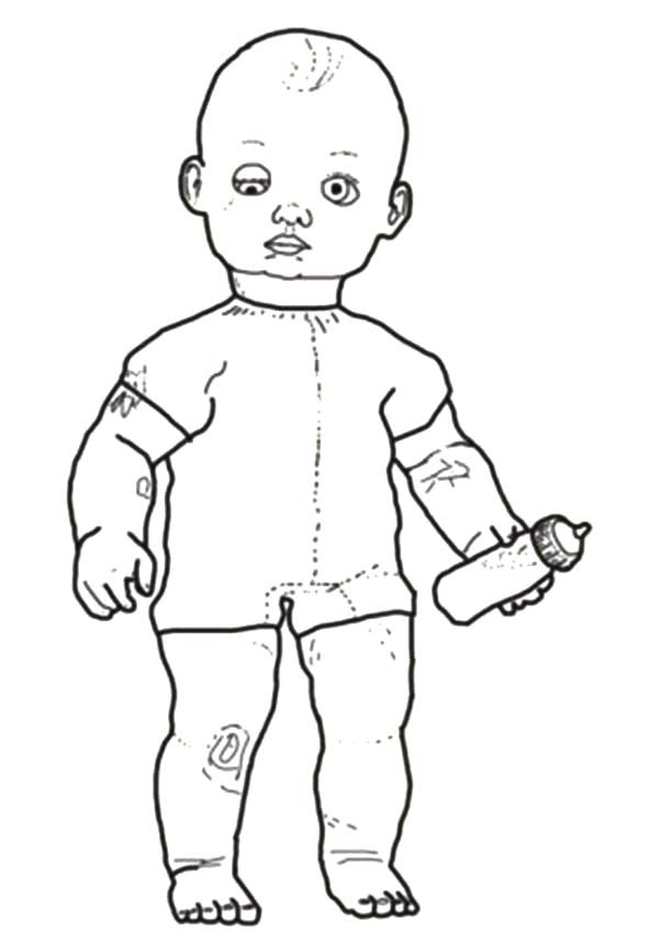 Twin Babies Coloring Page Sketch Coloring Page
