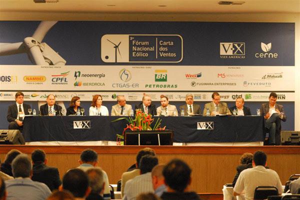 Discussão é a mais importante sobre energia eólica no Brasil