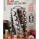 Kamenstein 20 Jar Revolving Spice Rack