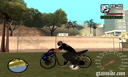 GTA San Reas Download Motor DRAG Motor Indonesia INDONESIAN