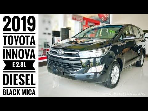 VIDEO: 2019 Toyota INNOVA E 2.8L Diesel - Black Mica | Full Walk Around w/ Inte...