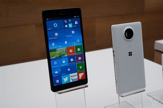 Lumia 950 and 950 XL hands-on: Windows Phone is back