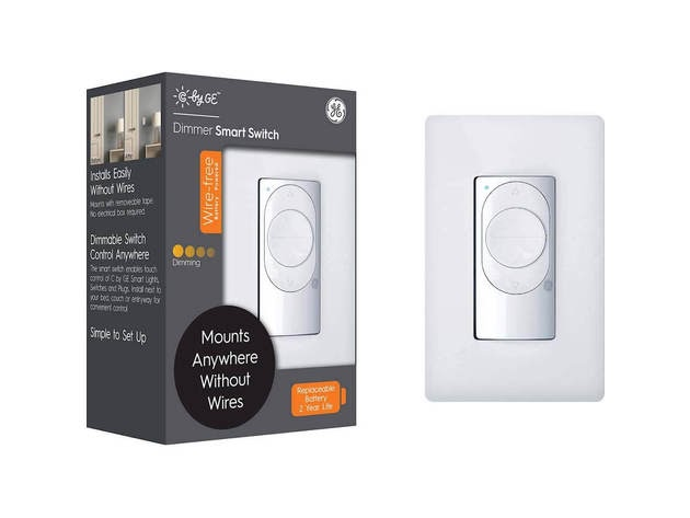 Cync by GE 93105004 C by GE Wire-Free Smart Dimmer Switch for $29