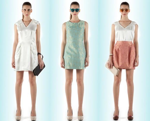 No bazar de Alexandre Herchcovitch: vestido R$ 149; vestido R$ 179; camisa R$ 49 e saia R$ 89 (Foto: Divulgação)