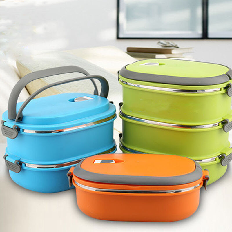 Hot Thermal Insulated Bento Stainless Steel Food Container ...