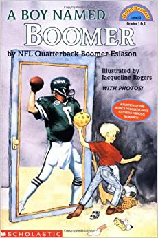 Amazon.com: A Boy Named Boomer Hello Reader! Level 3 9780590528351: Boomer Esiason