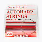 Oscar Schmidt ASB-23B-U Single Autoharp Strings - Type B - Model 23B