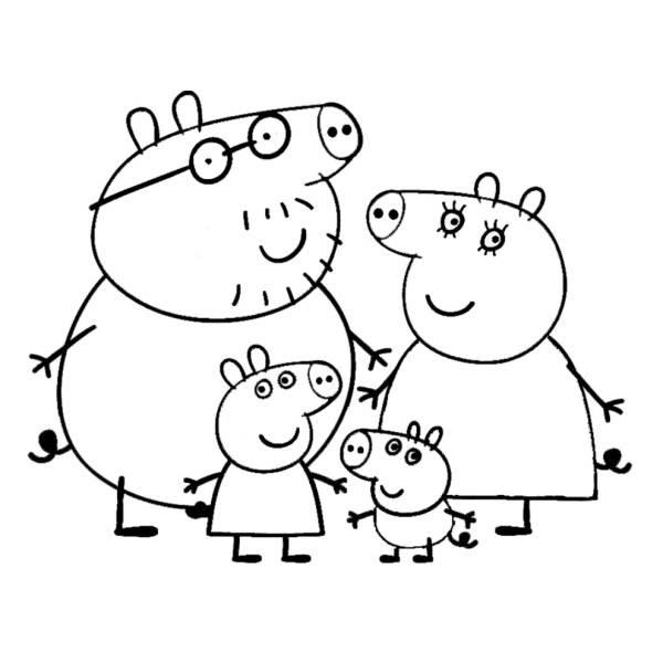 Disegni Da Colorare Peppa Pig A Scuola Coloradisegni