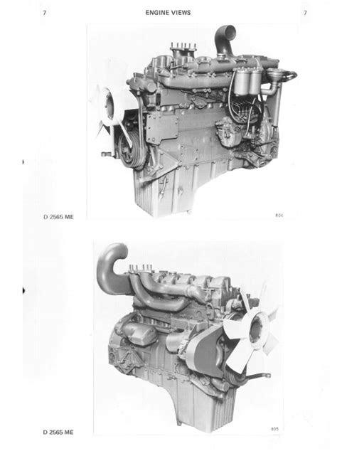 Man D 2565 ME, D 2566 ME/MTE/MLE, D 2866 E/TE/LE Diesel