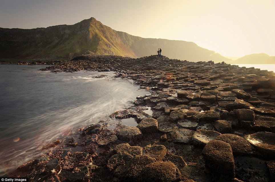 Giant's Causeway, Northern Ireland: Legend claims this rocky peninsula is the handiwork of an angry giant, but the real story behind the striking basalt columns is even more extraordinary