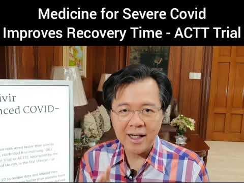Gamot sa Covid Aprubado ng US FDA