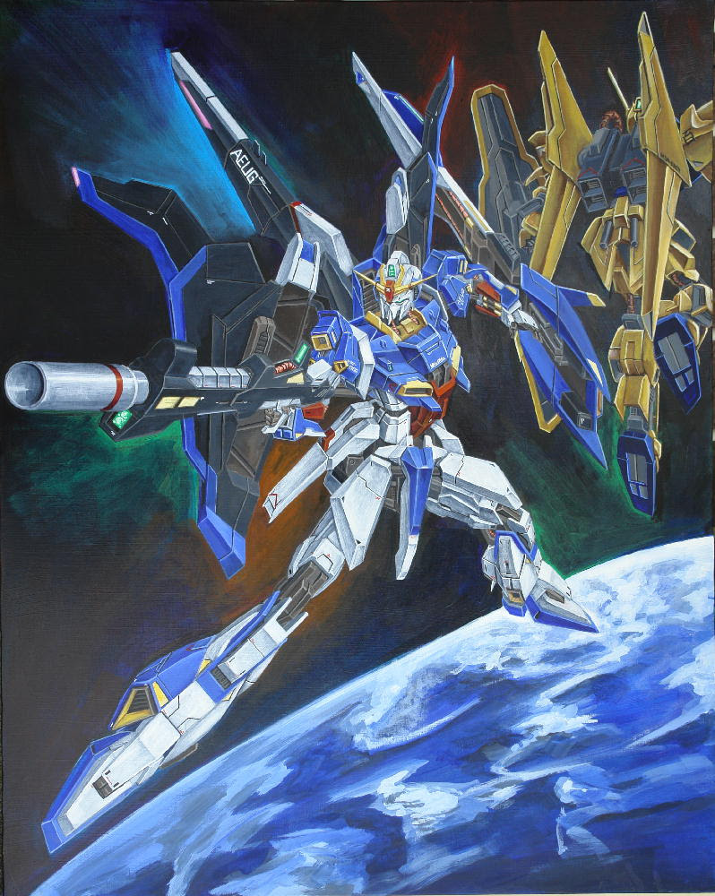 Msz 006 Z Gundam Believing Sign Of Z
