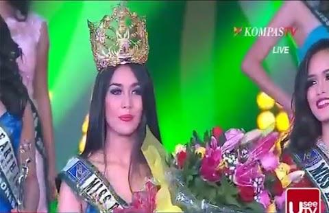 Miss Earth Indonesia 2014 is Anissa Ananda Nusyirwan