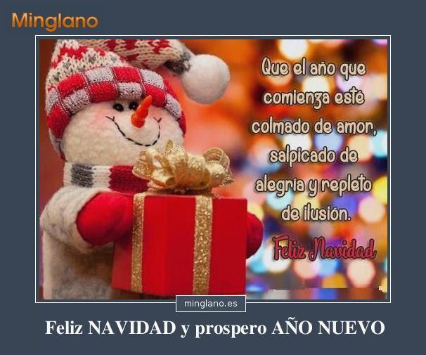 Frases Para Desear Feliz Navidad Y Prospero Ano Nuevo