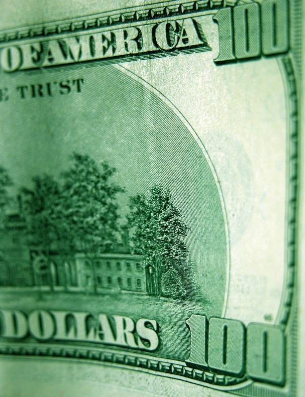 100 dollar bill template. one hundred dollar bill