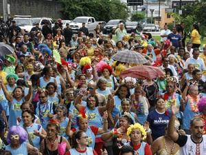 CarnaIdoso reúne foliões em Manaus (Foto: Marinho Ramos/Semcom)