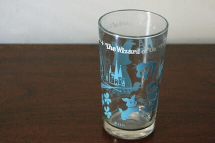 Vintage OZ Wizard of Oz Collectors Glass SALE