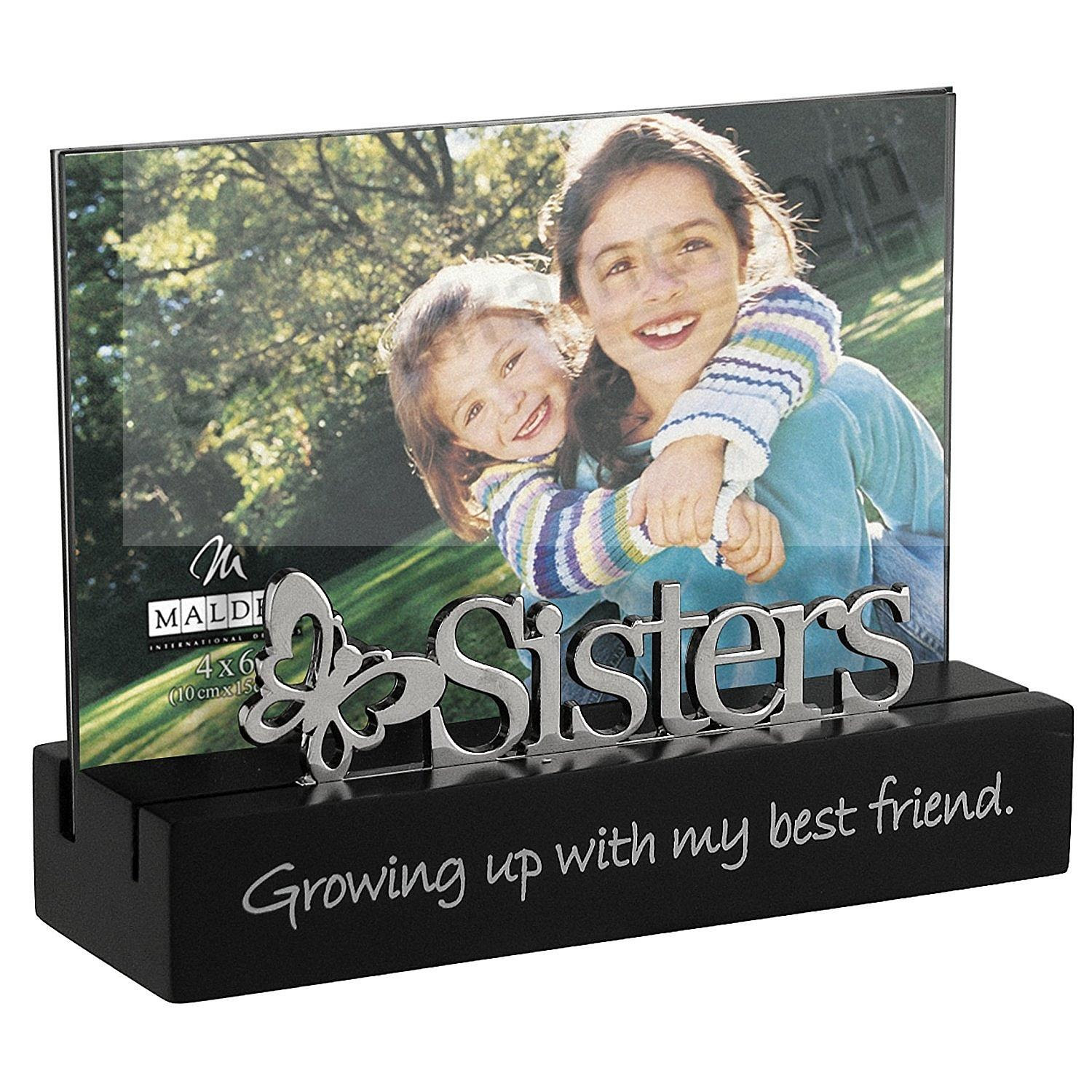 Sisters Growing Up With My Best Friend Life Expressions Frame By