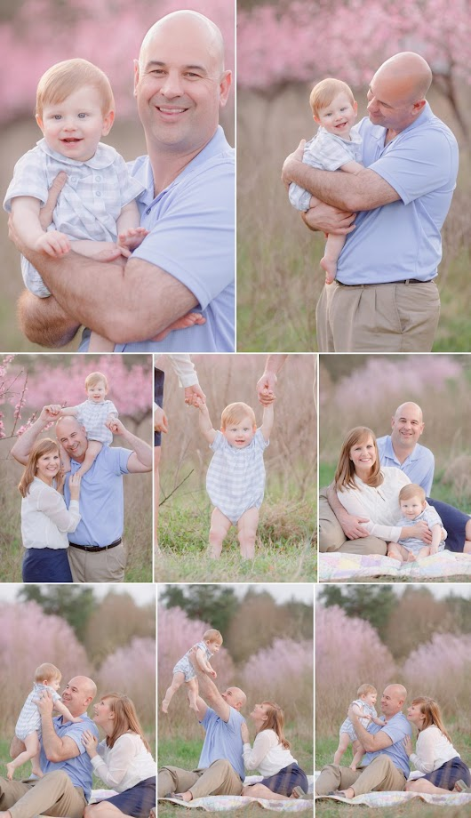 Spring Family Photos | Oconee County, GA Peach Orchard