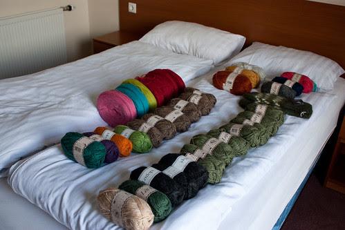 my yarn haul