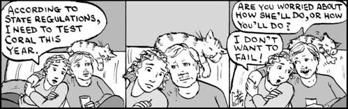 Home Spun comic strip #577