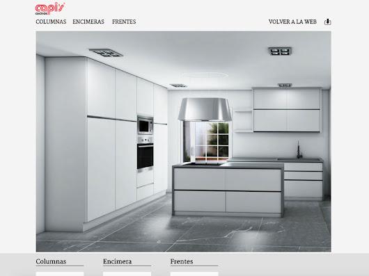 Deseas cambiar tu cocina con este configurador y la ayuda de cocinas capis t - Cocinas capi ...