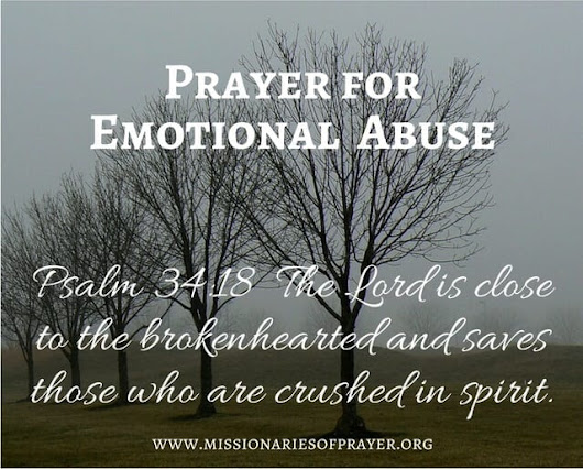 Prayer for Emotional Abuse -