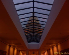 Capitol Dome Through the Skylight