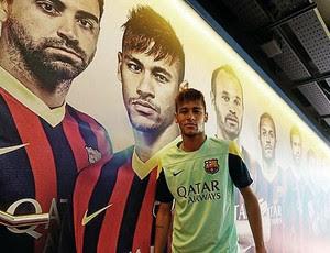 neymar barcelona levante (Foto: Reprodução / Facebook)