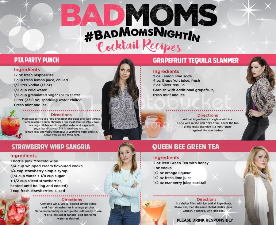 Bad moms cocktail recipe
