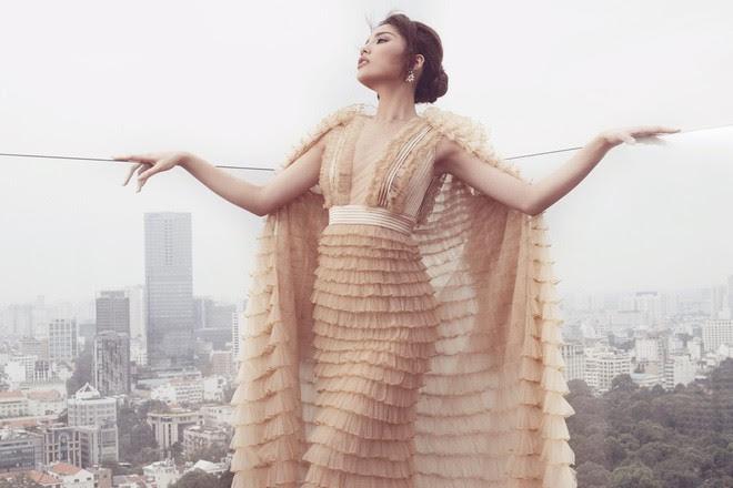 Tung bộ ảnh mới, Kỳ Duyên vô tình tạo nên màn tranh đấu váy áo với cả Tóc Tiên và Hari Won - Ảnh 3.