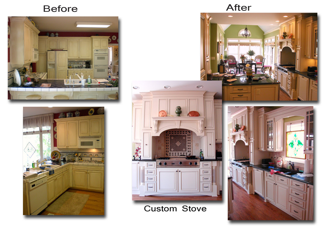 Kitchen Renovation Stoneybrooke Homes Inc Beforeafter