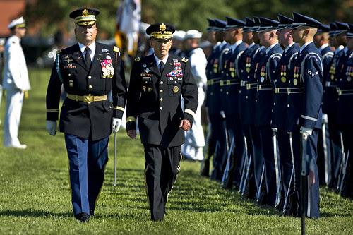 Gen. David H. Petraeus retirement