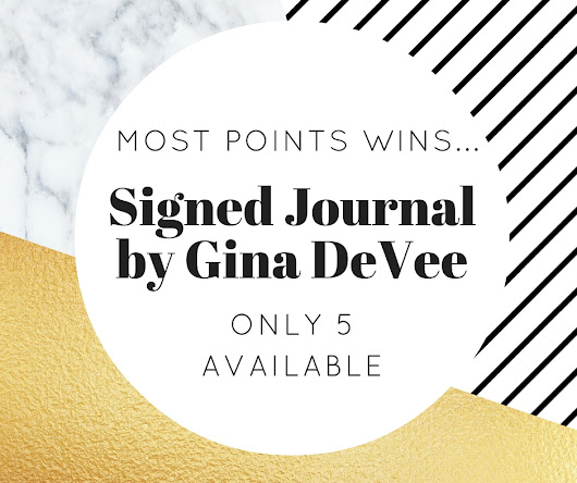 Win An Exclusive LifeStyle Design Dream Journal Signed By Gina DeVee!