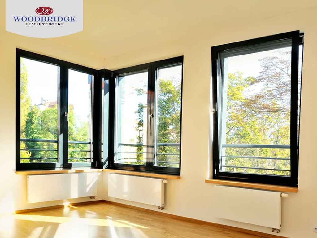 Design Ideas: Window Treatments for Corner Windows - Woodbridge