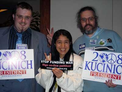 Kucinich Supporters  JPG