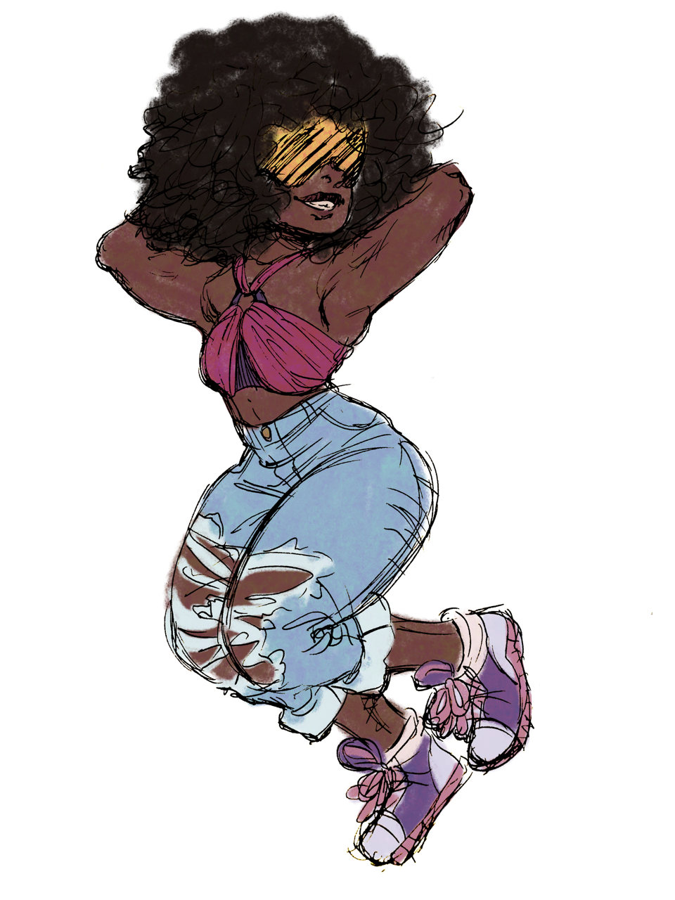 Garnet in some human clothes