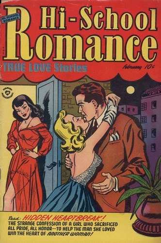 Hi-school romance 19 (Harvey, 1952)