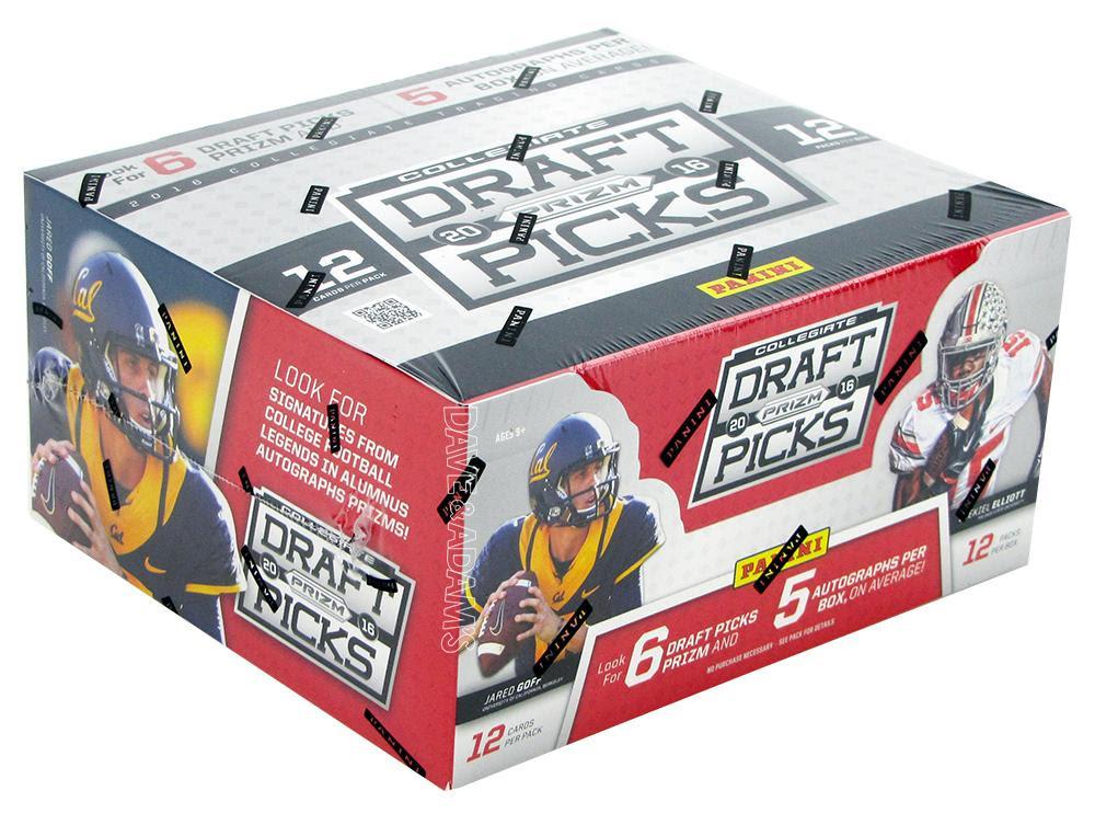 2016 Panini Prizm Collegiate Draft Picks Football Hobby Box  DA Card World