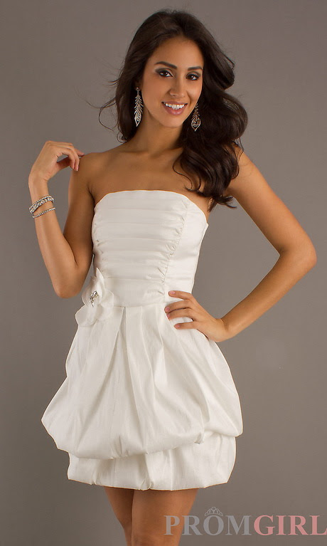 cute white graduation dresses