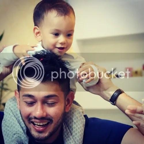 Gambar terkini anak Farid Kamil dan Diana Danielle