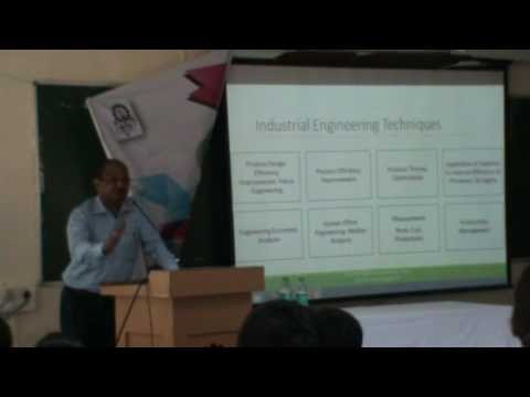 Explaining Industrial Engineering to Potential Students