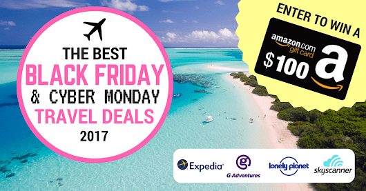 The BEST Black Friday & Cyber Monday Travel Deals for 2017