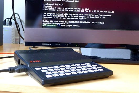 The Sinclair ZX81: a Raspberry Pi retro restyle - Part 2