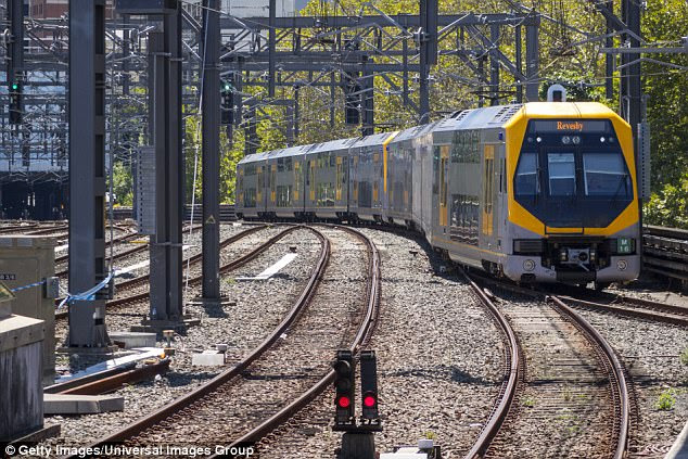 Sydneys T5 line suspended over asbestos claims strike  Daily Mail Online
