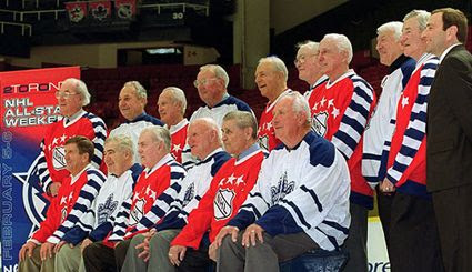 1947 NHL All-Stars reunion in 2000