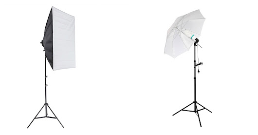 Umbrellas versus Softboxes - Which are Best?