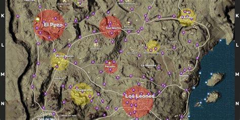 playerunknowns battlegrounds miramar maps loot maps